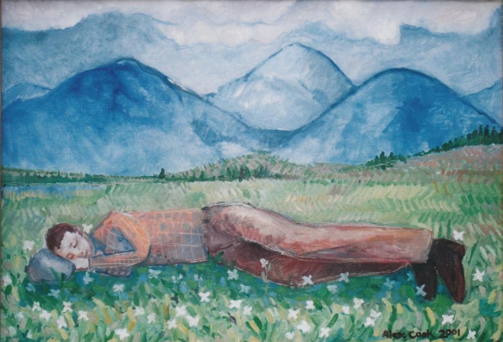 Resting Traveler