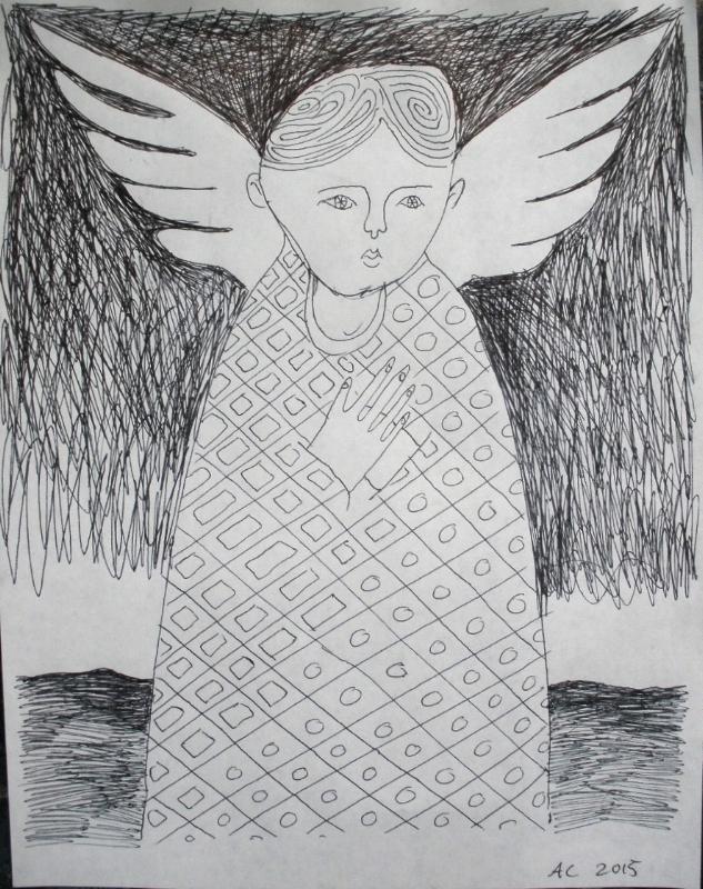 concerned angel