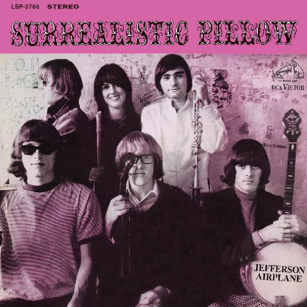 JEFFERSON AIRPLANE // SURREALISTIC PILLOW