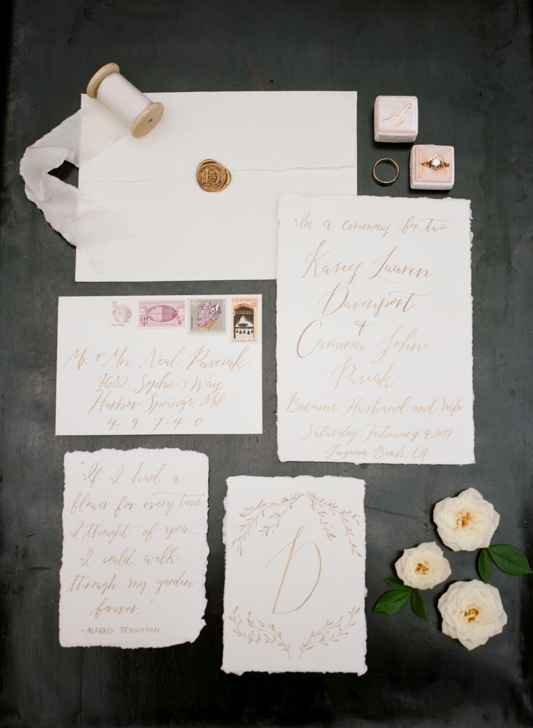 Stationery Suite by Julia Rohde Designs