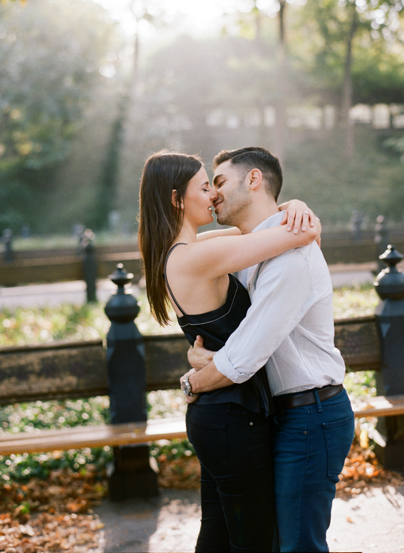 Engagement Session in Central Park - Photo by Kat Braman