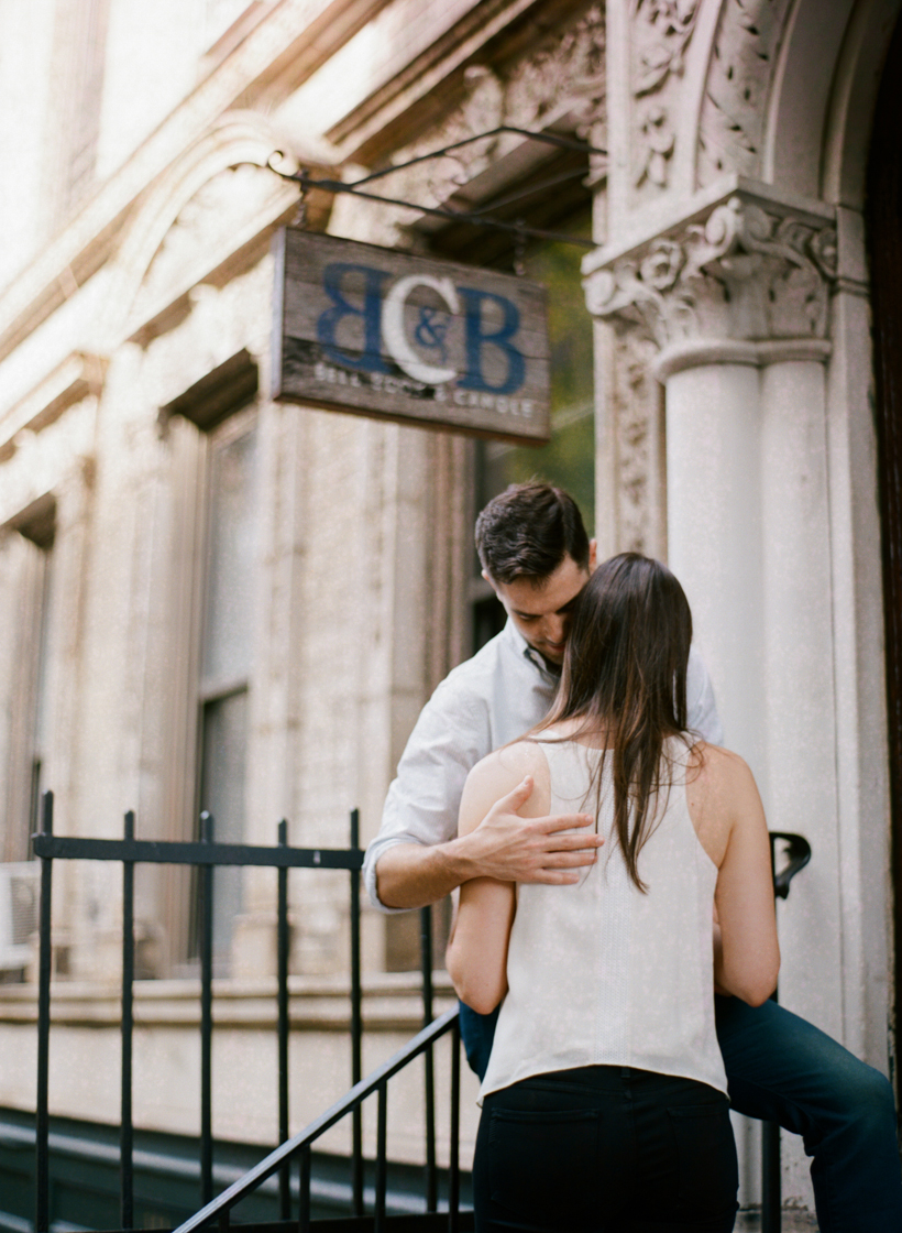 Tribeca Engagement Session - Photo by Kat Braman