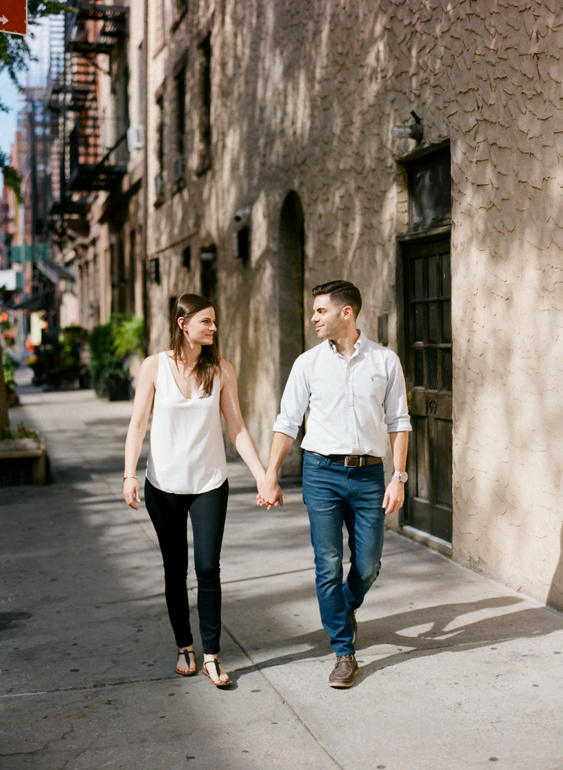 NYC Engagement Session - Photo by Kat Braman