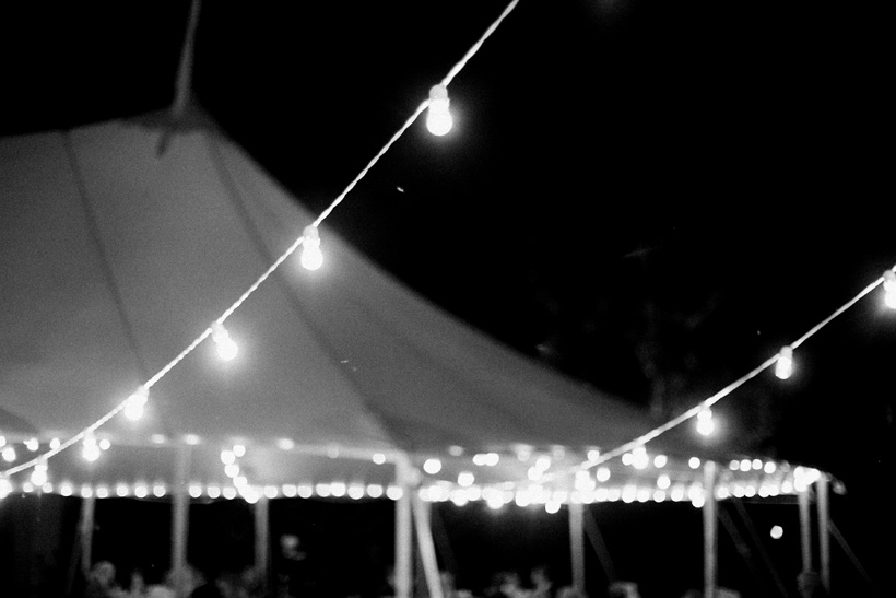 Sperry Tent wedding reception in Palm Beach - photo by Kat Braman