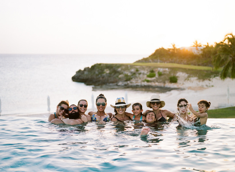 Destination Wedding at The Cove Eleuthera - Photo by Kat Braman