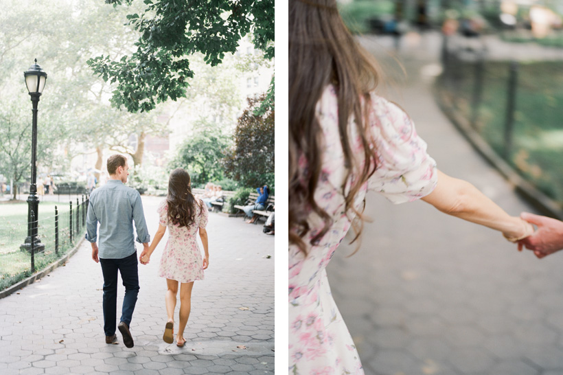 Engagement Session in Madison Square Park