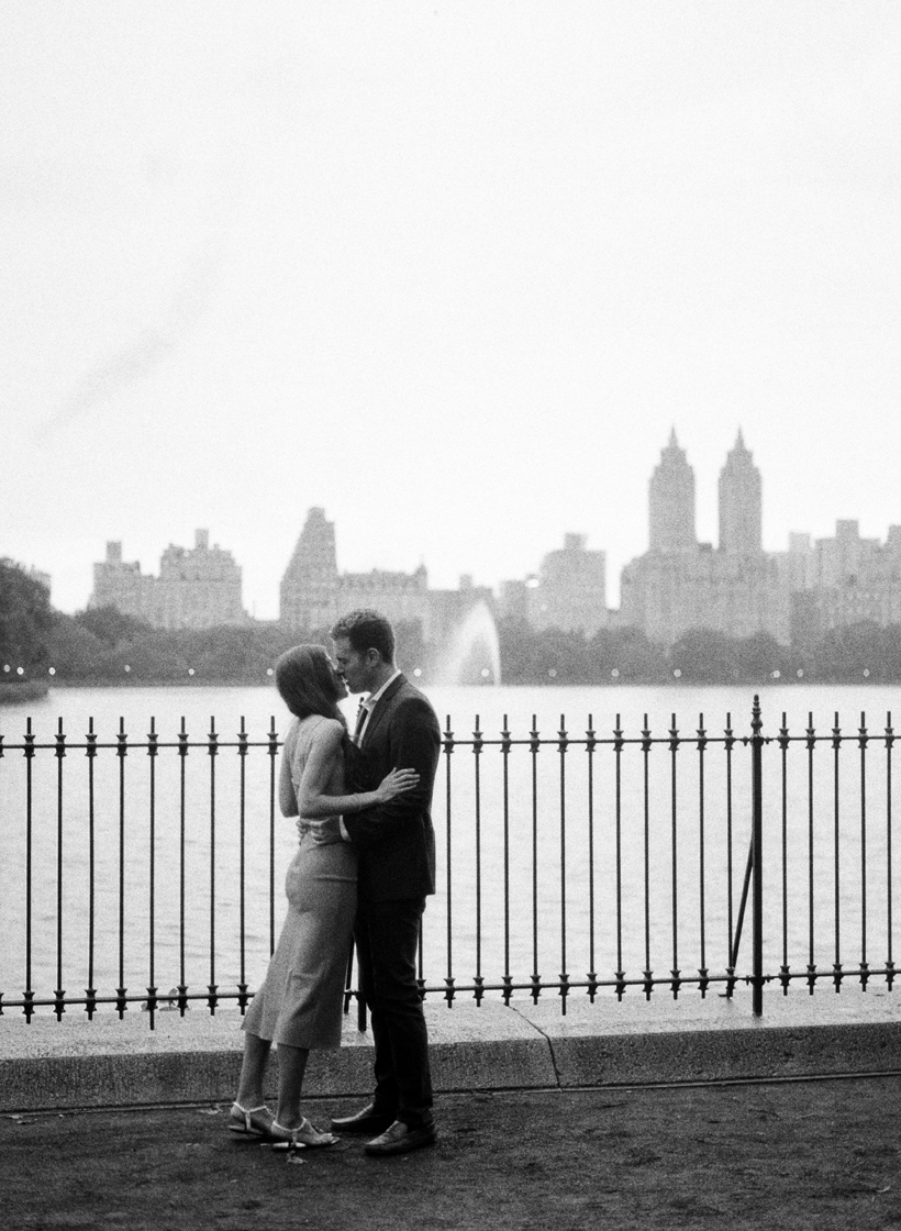 Engagement Photos at JKO in Central Park