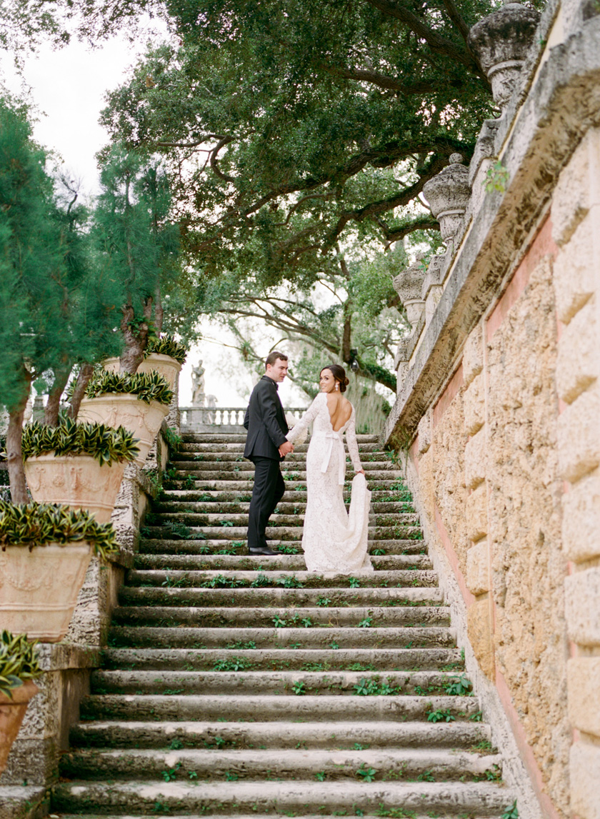Vizcaya Museum and Gardens Wedding Photos