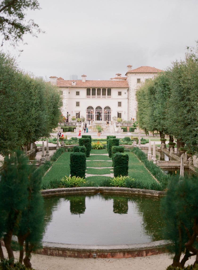 Vizcaya Museum Destination Wedding in Miami
