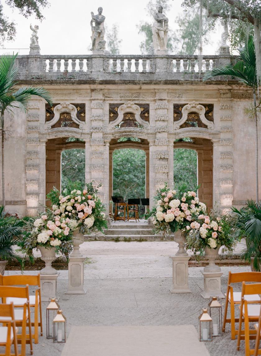 Vizcaya Wedding Ceremony Design