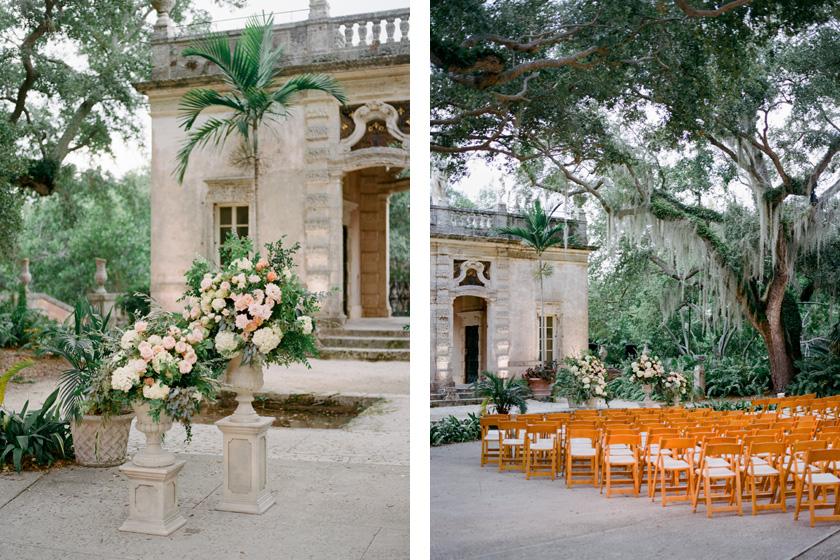 Vizcaya Wedding Ceremony Inspiration