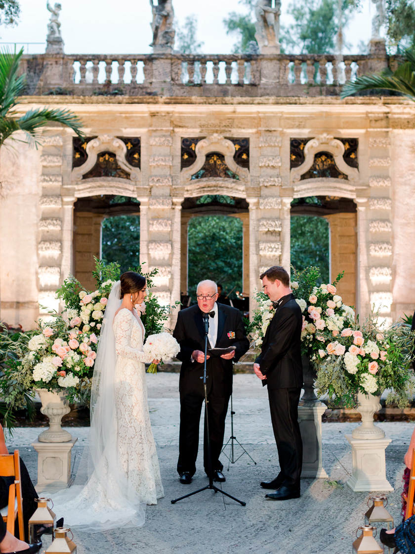 Get married at historic Vizcaya in Miami