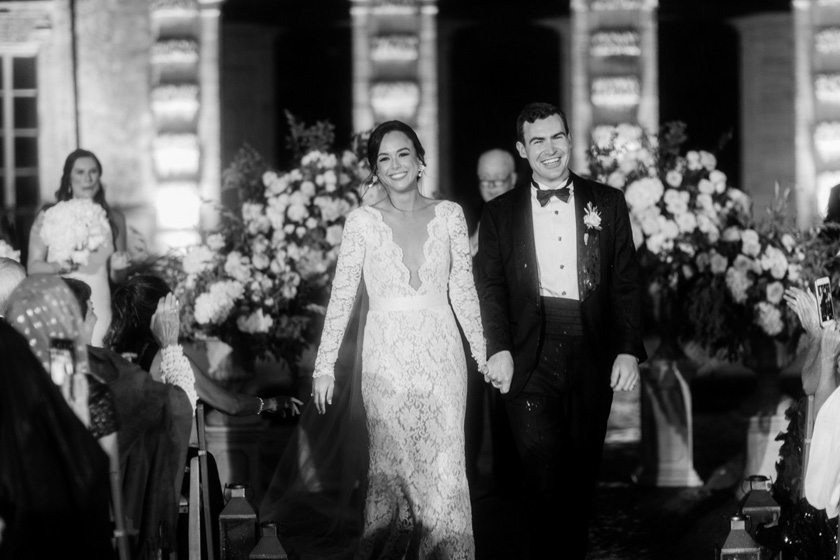 Vizcaya Museum Wedding Ceremony