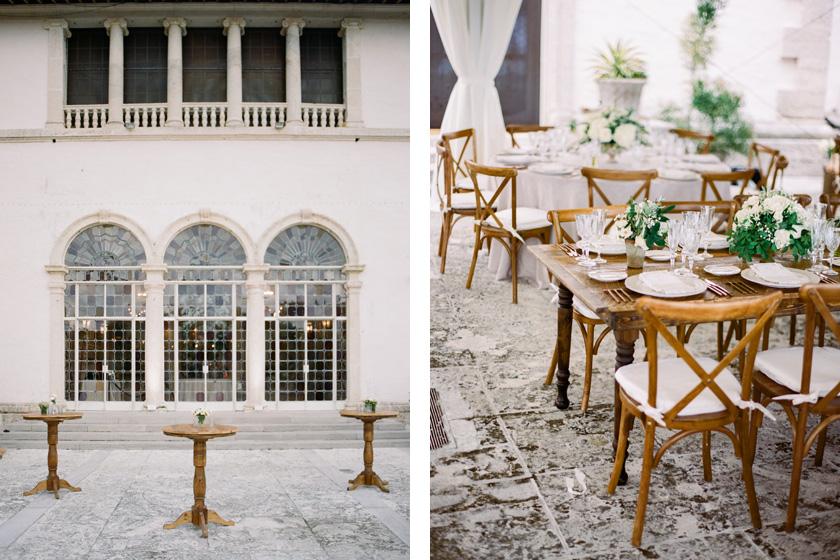Vizcaya Wedding Reception in Miami