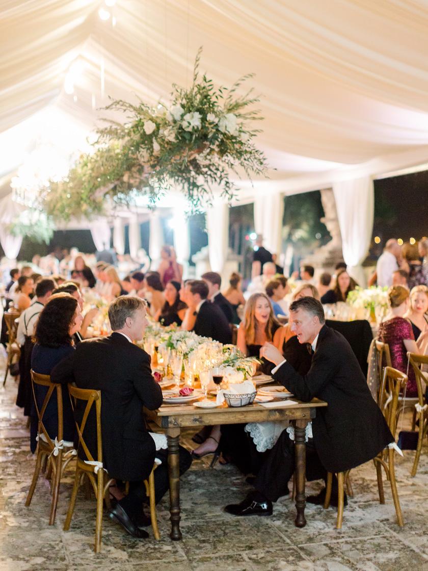 Wedding Reception at Vizcaya Museum in Miami
