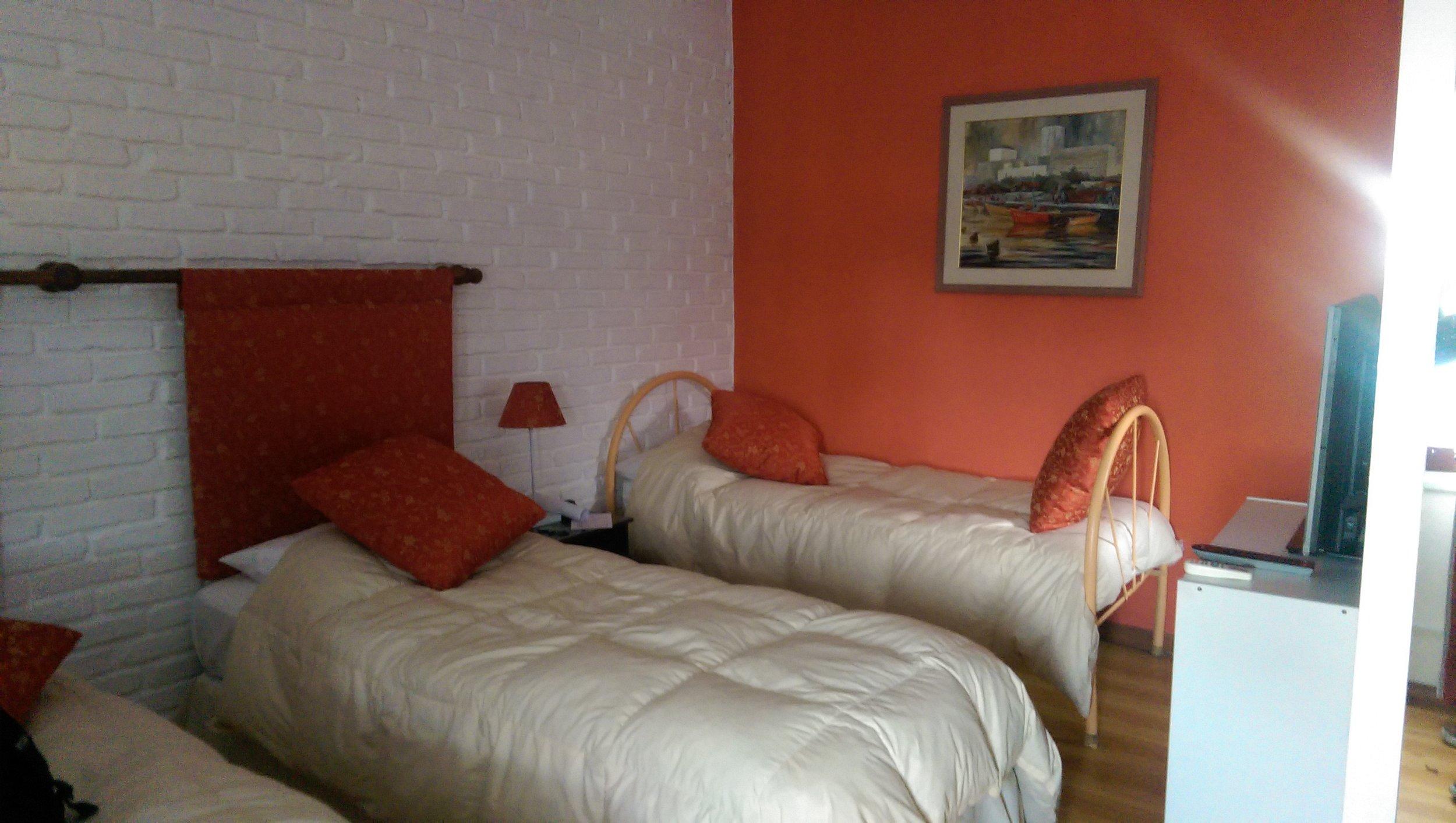 A cozy little room at  La Posada del Angel .
