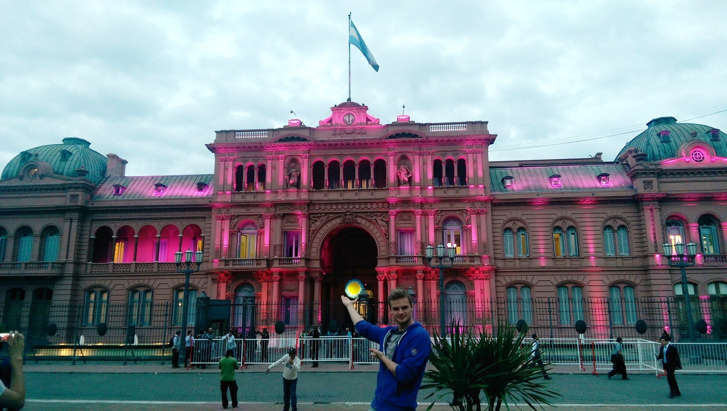I give you  La Casa Rosada , the executive mansion and office of the president of Argentina