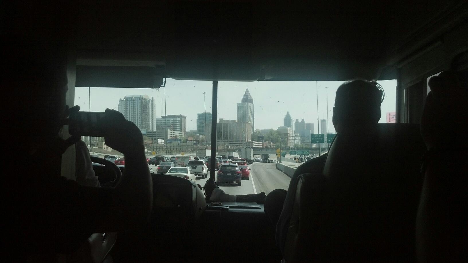 Arriving in Atlanta
