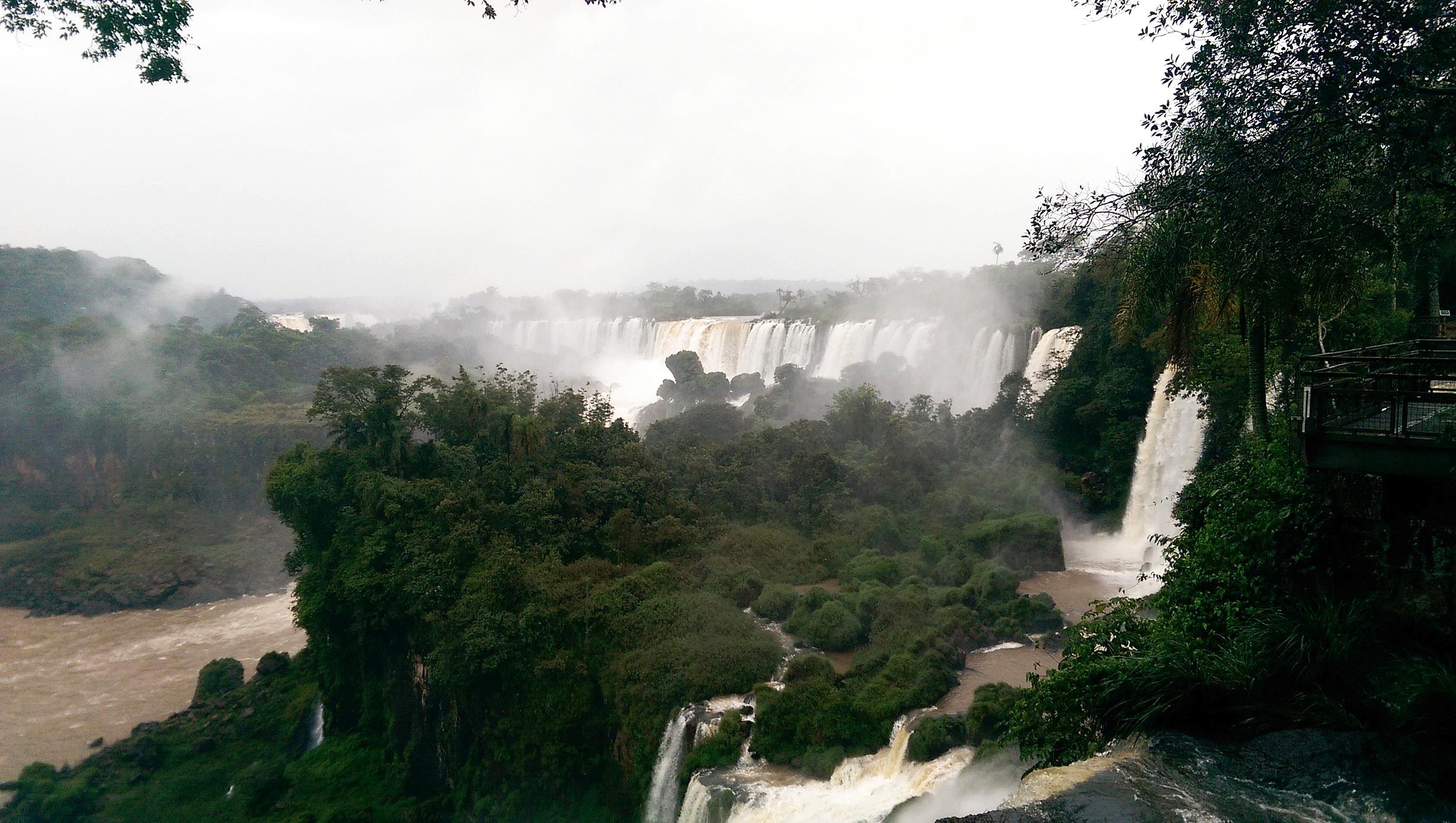 Behold, Las Cataratas del Iguazu