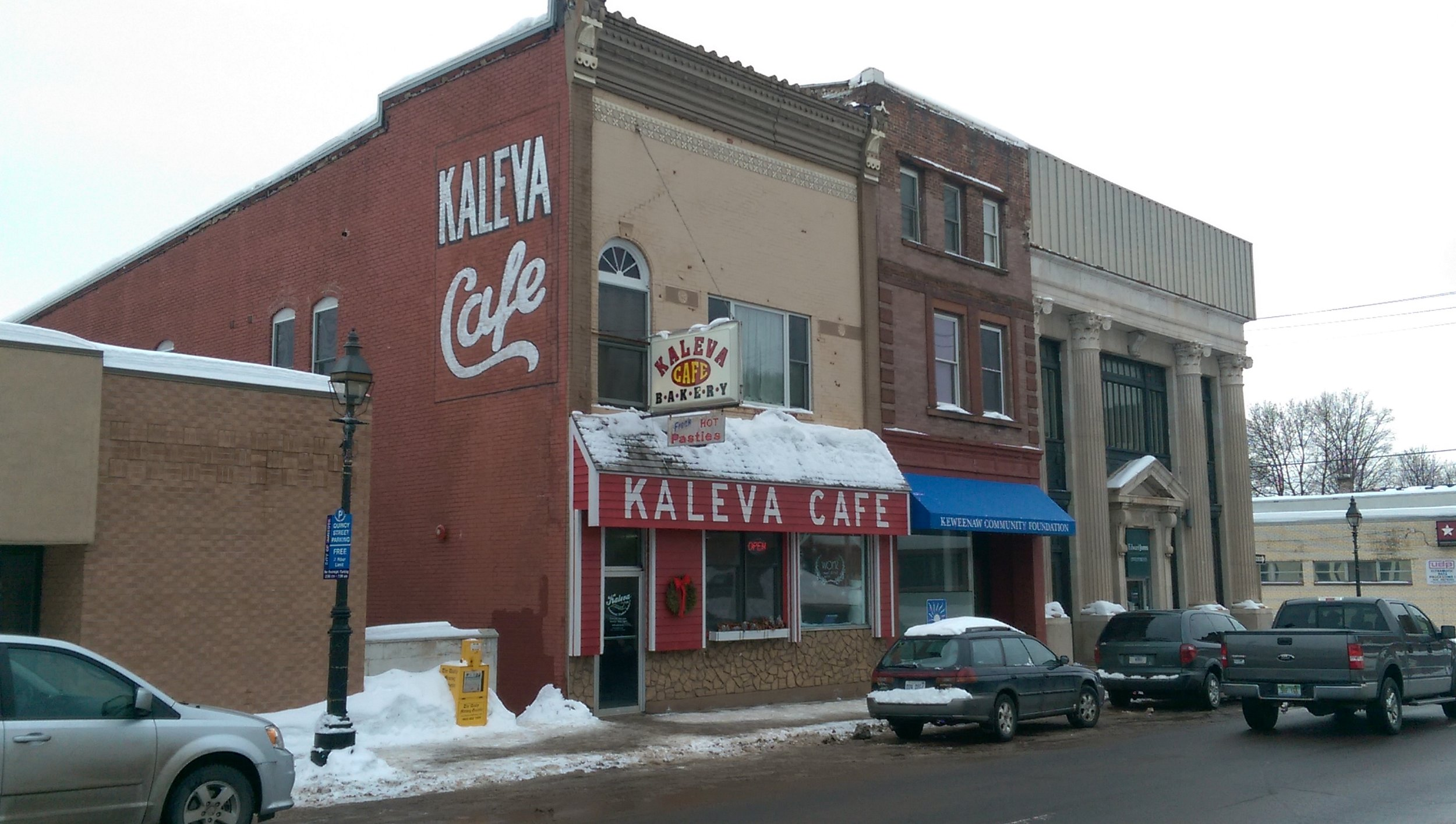 The 99-year-old cafe on Quincy Street is often packed for brunch