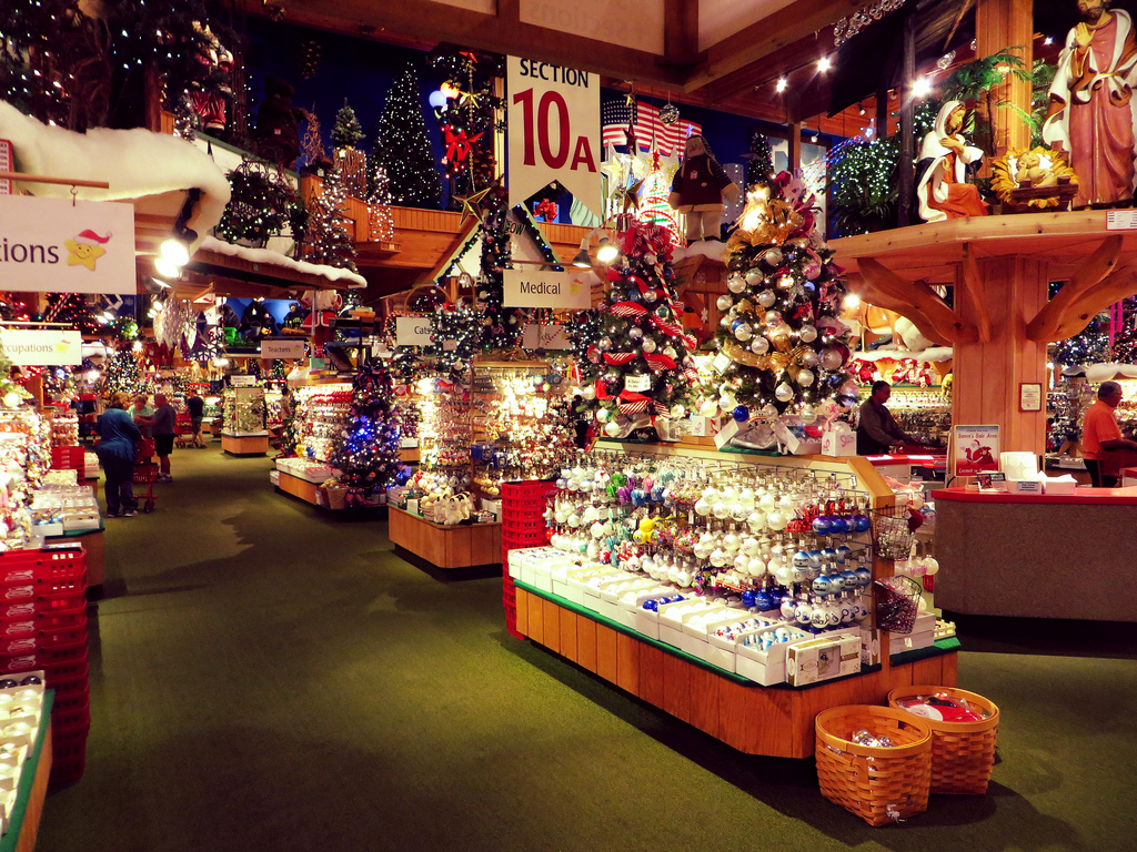A look inside Bronner's Christmas Wonderland. (Image:  Flickr )