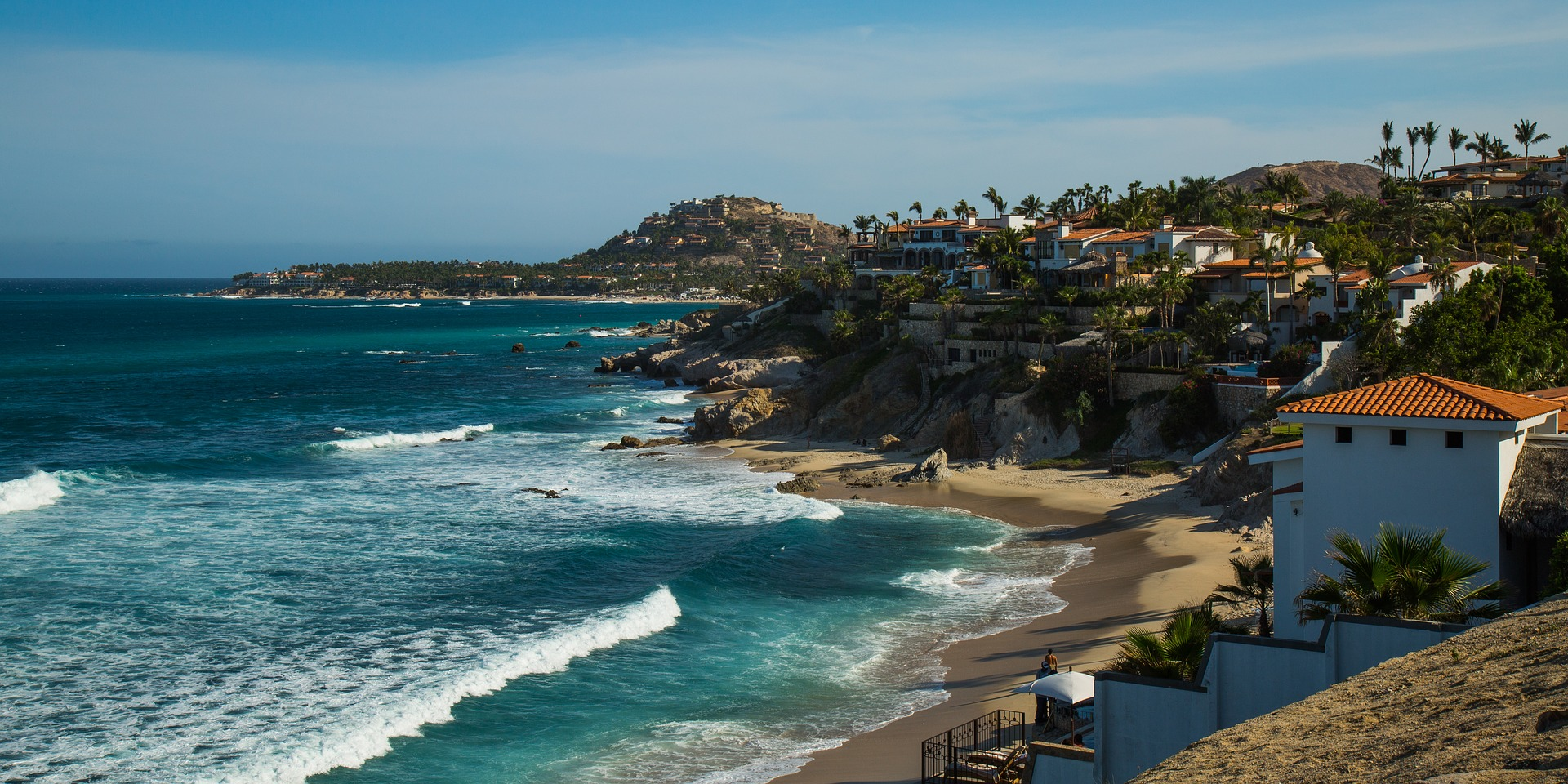 Los Cabos, Mexico, was a destination mentioned as a place to be in 2018 by both  The New York Times  and  Travel + Leisure . Here, a sunny view of Cabo San Lucas (Image:  Pixabay )