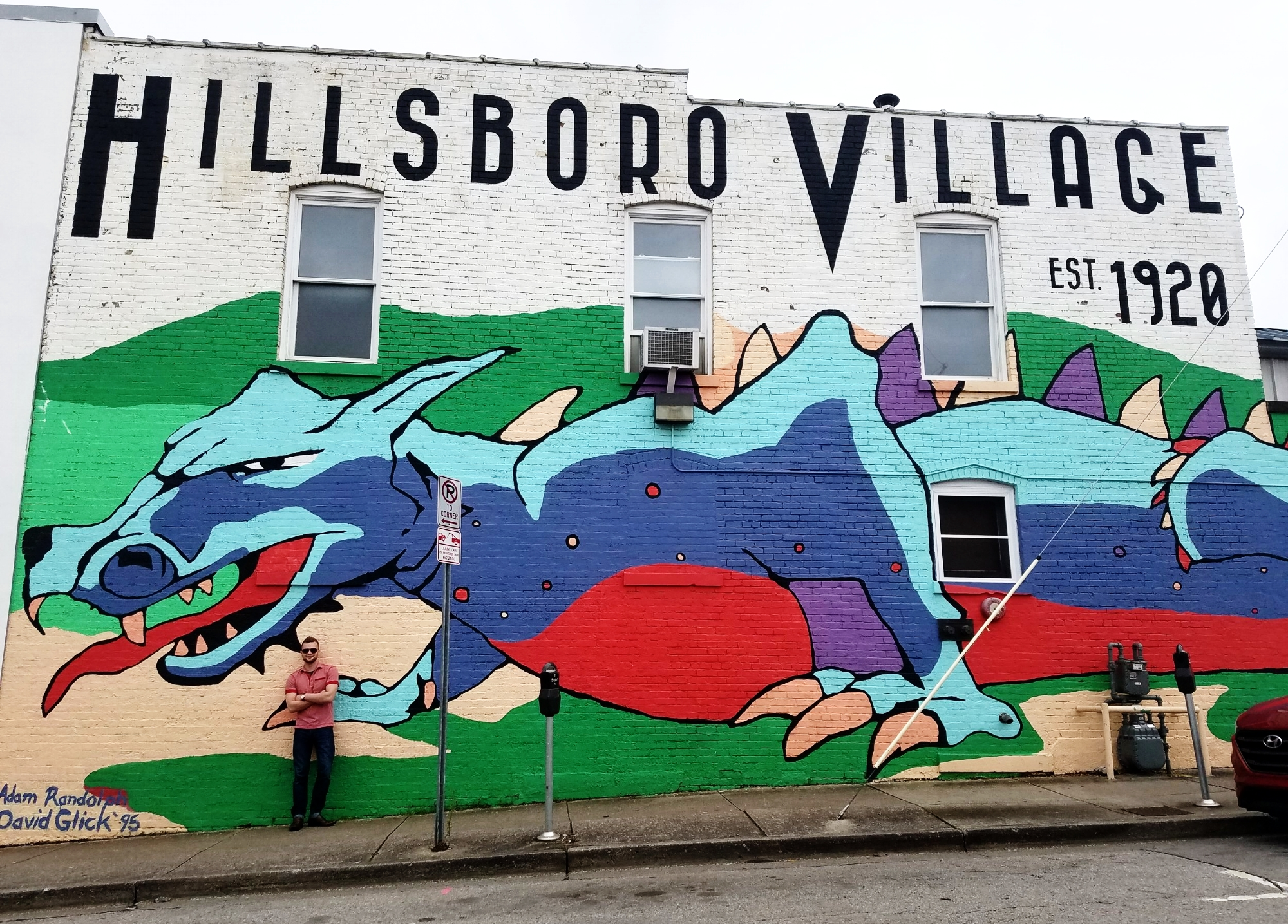 The residents of Hillsboro Village have been terrorized by this colorful dragon since 1995