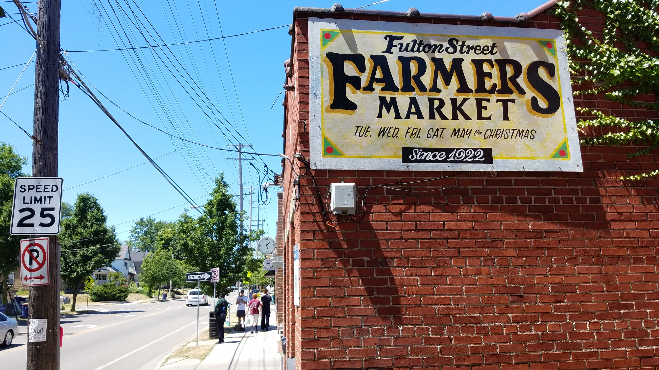 The Fulton Street Farmers Market has been going strong since 1922