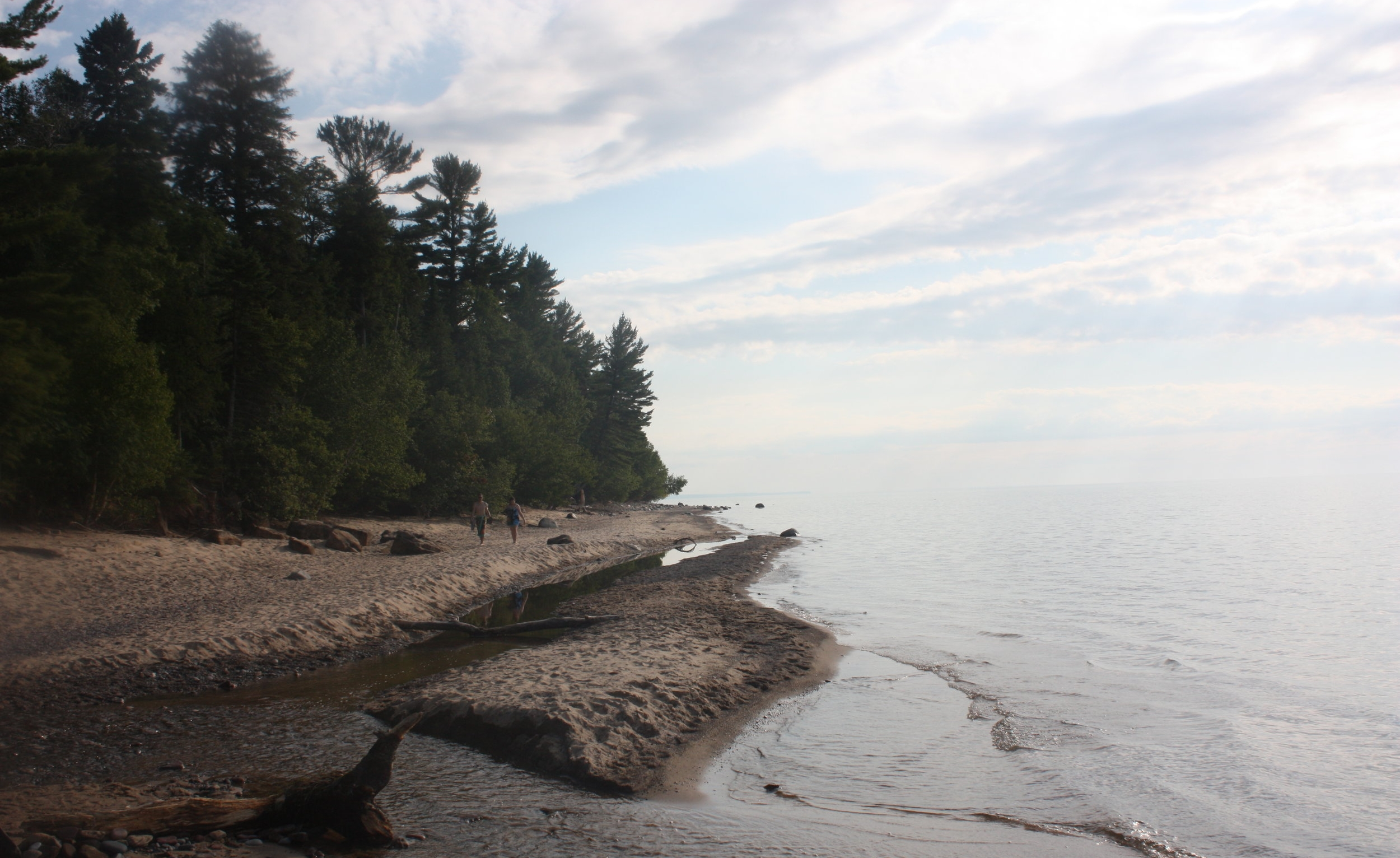 Lake Superior near the Hurricane River Campground off Highway 58