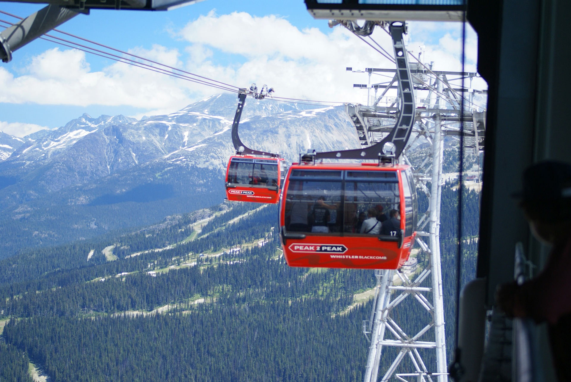 On top of endless skiing and snowboarding, Whistler doesn't shortchange guests on breathtaking views either (Image:  Pixabay )