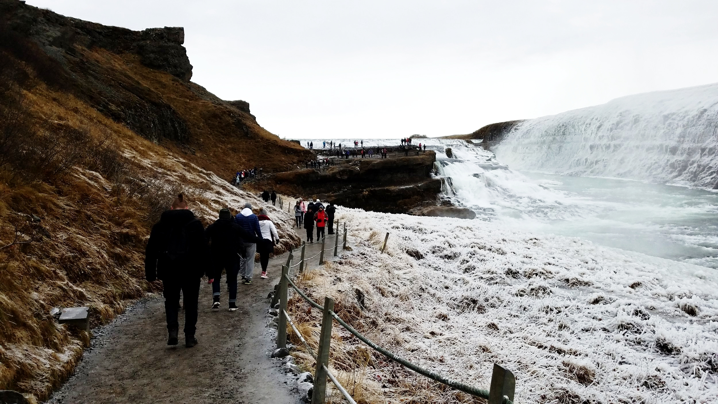 A photo can't quite capture all of the majesty that is Gullfoss