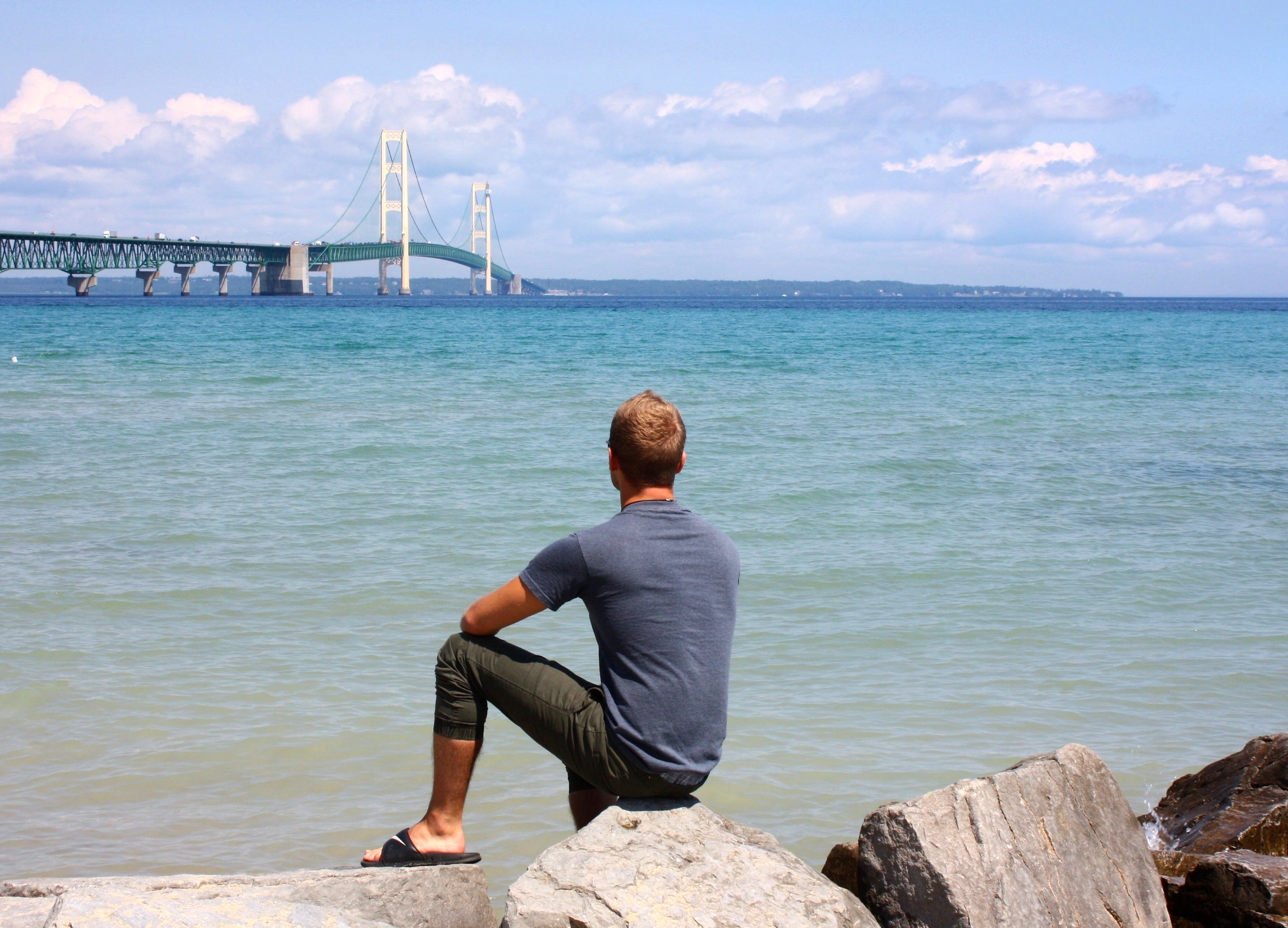 Looking back at the Mackinac Bridge …and on a transformational year
