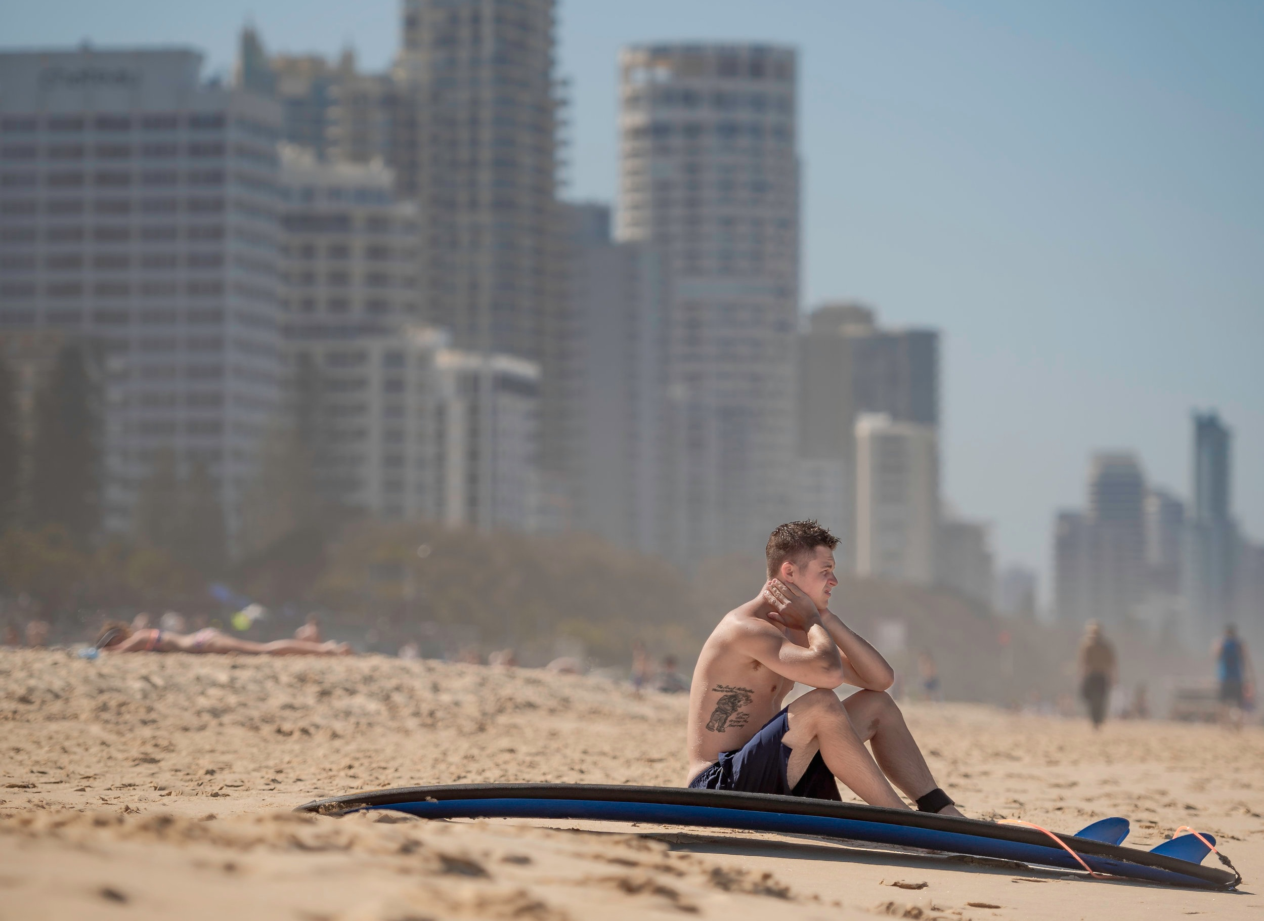 Taking a break at Surfers Paradise (Image: Asif Aman,  Unsplash )