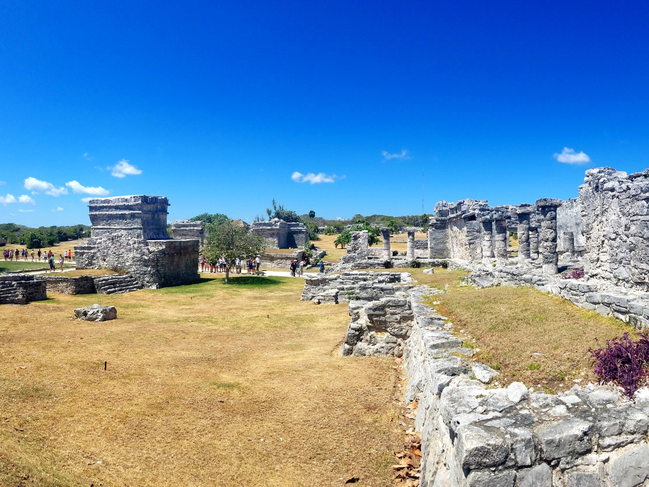 The Maya ruins of Tulum