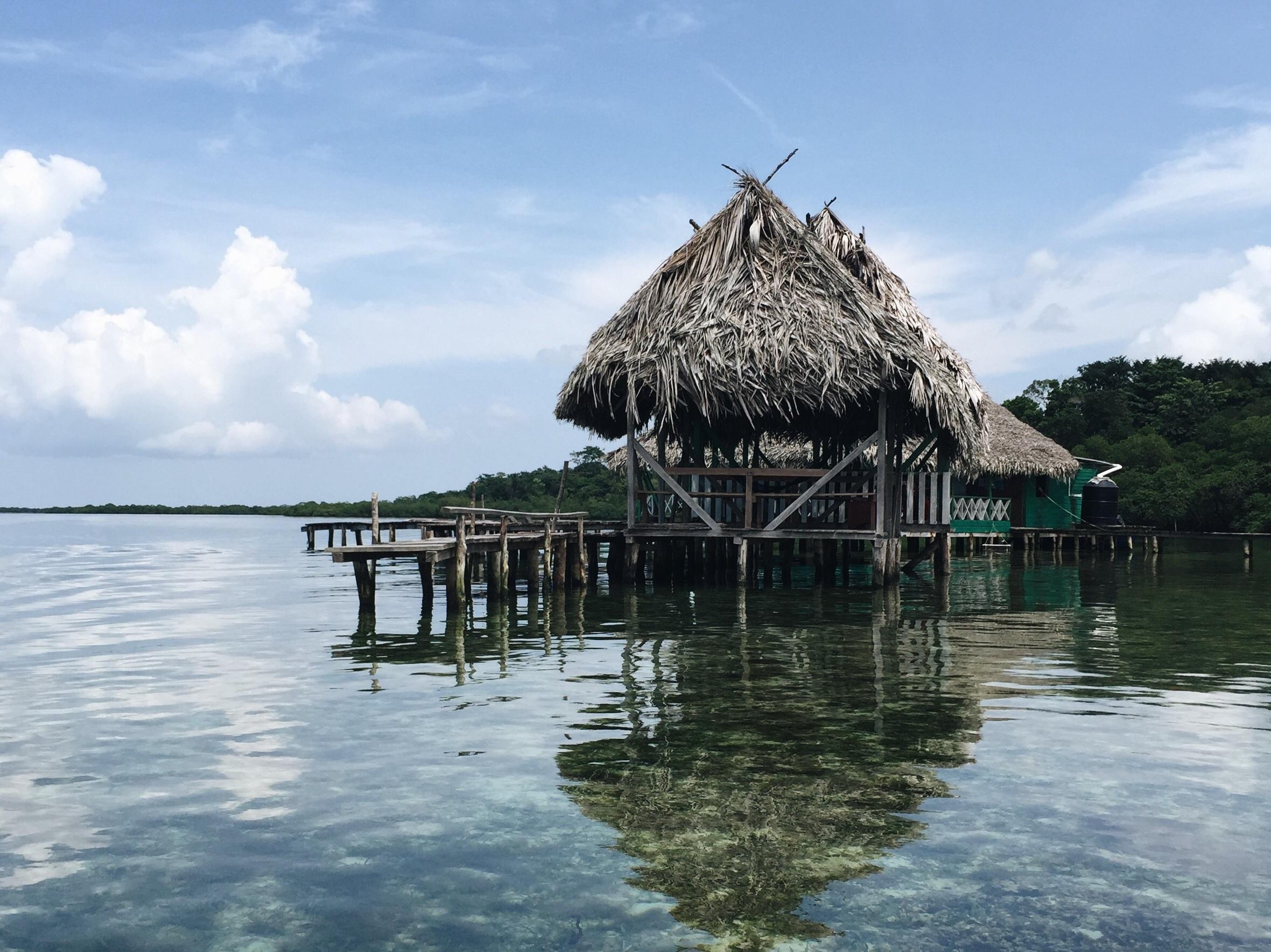 A boathouse in Bocas del Toro (Photo: Pablo García Saldaña,  Unsplash )