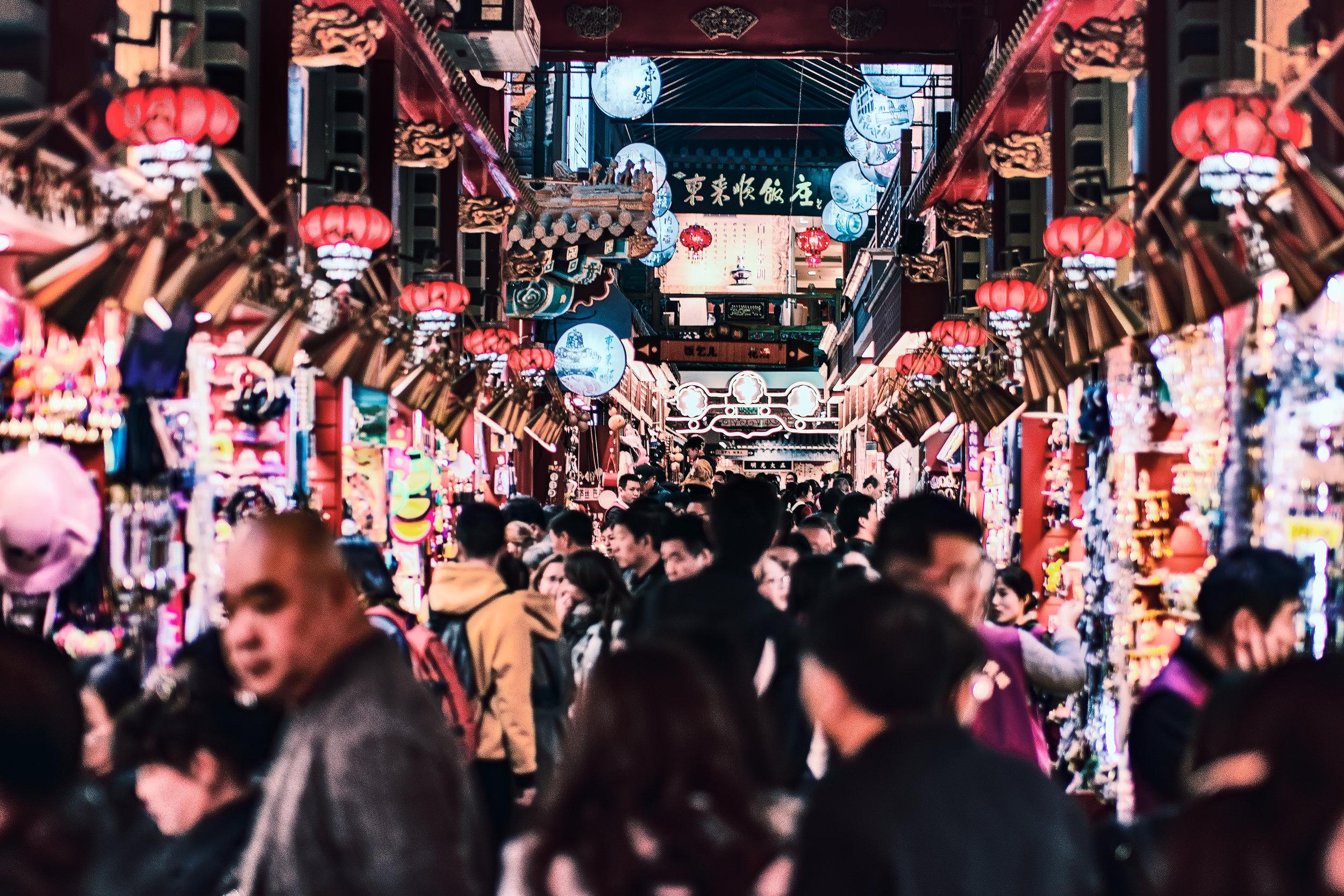 A market in Beijing (Photo: Zhang Kaiyv,  Unsplash )