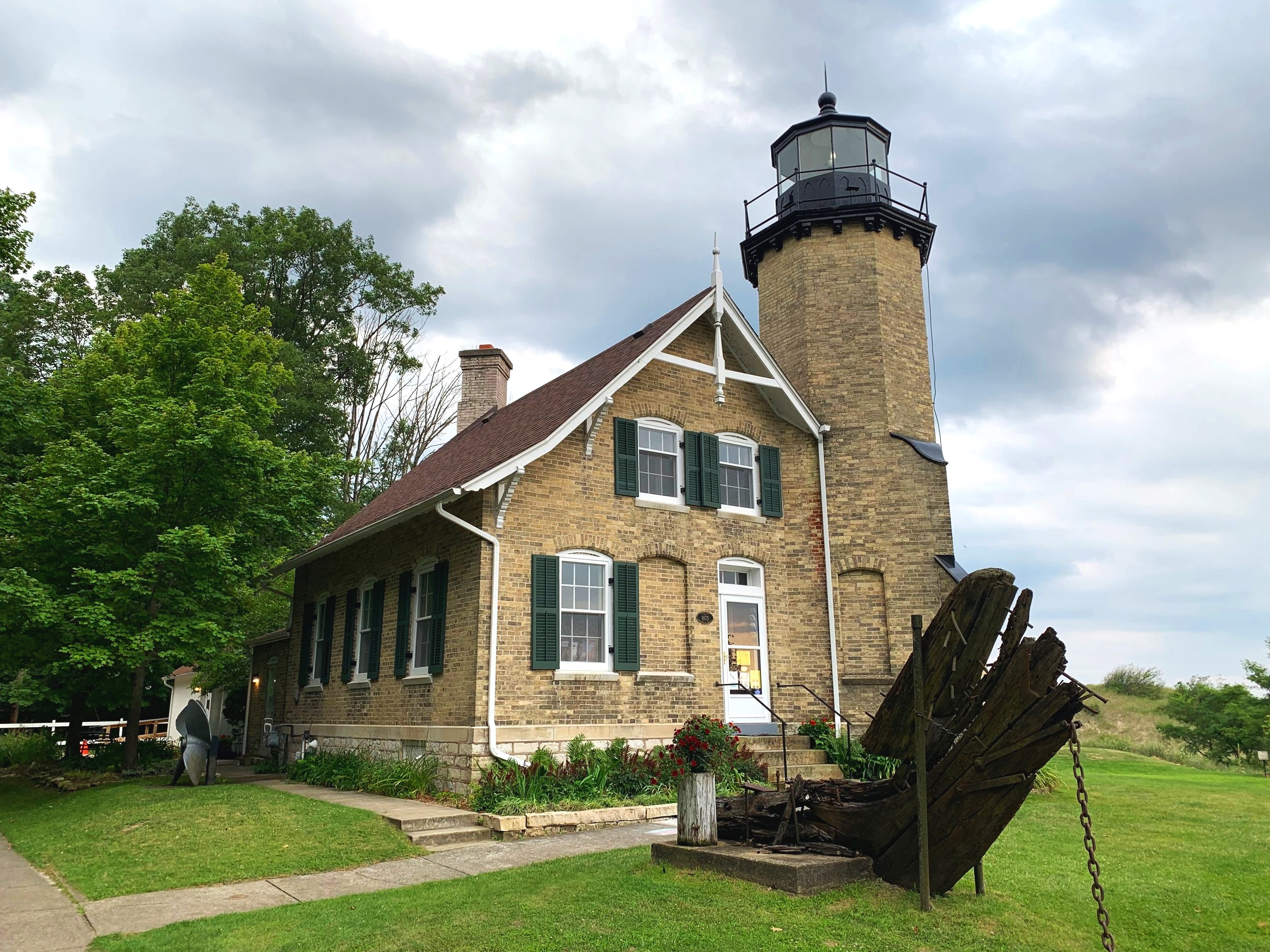 The White River Light Station & Museum sits on the very western end of White Lake in Fruitland Township