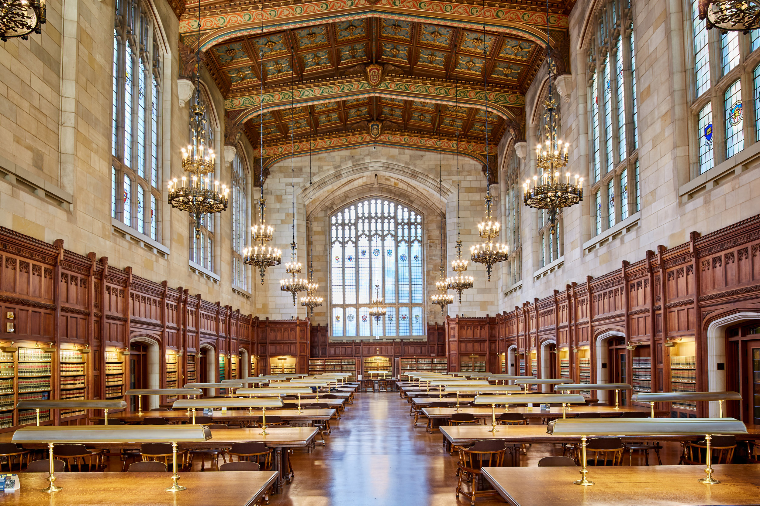 A look inside the Law Library (Photo: Unsplash)