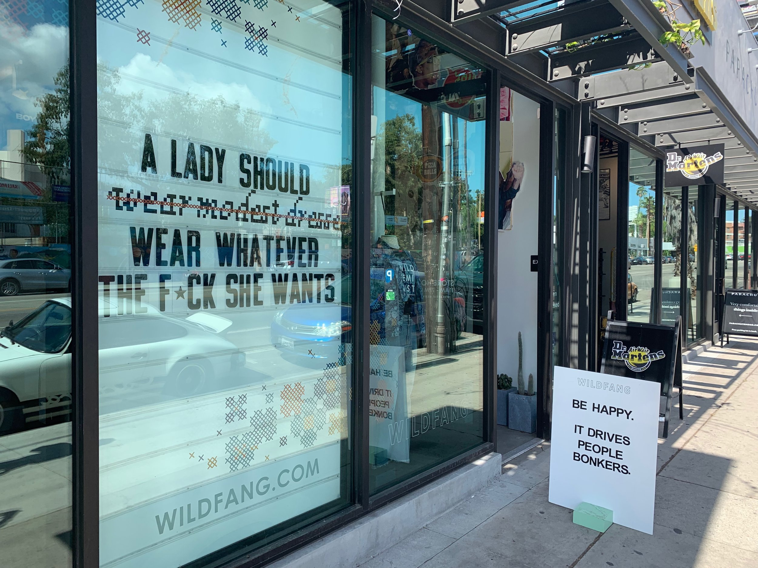 As you can see, the folks at Wild Fang are very serious about their core belief. In addition to being bold in belief, they are also bold with their actions. In 2018, the company raised over $400K for charities that support reproductive, immigrant, and women's/human rights.