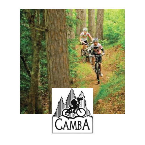 The Chequamegon Area Mountain Bike Association, CAMBA, maintains a system of over 125 miles of singletrack trails and another 100 miles of other mapped & marked off-road routes in the Chequamegon Area of Northwest Wisconsin.