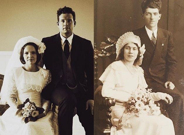 Recreated my grandparents 1930s wedding in Ireland