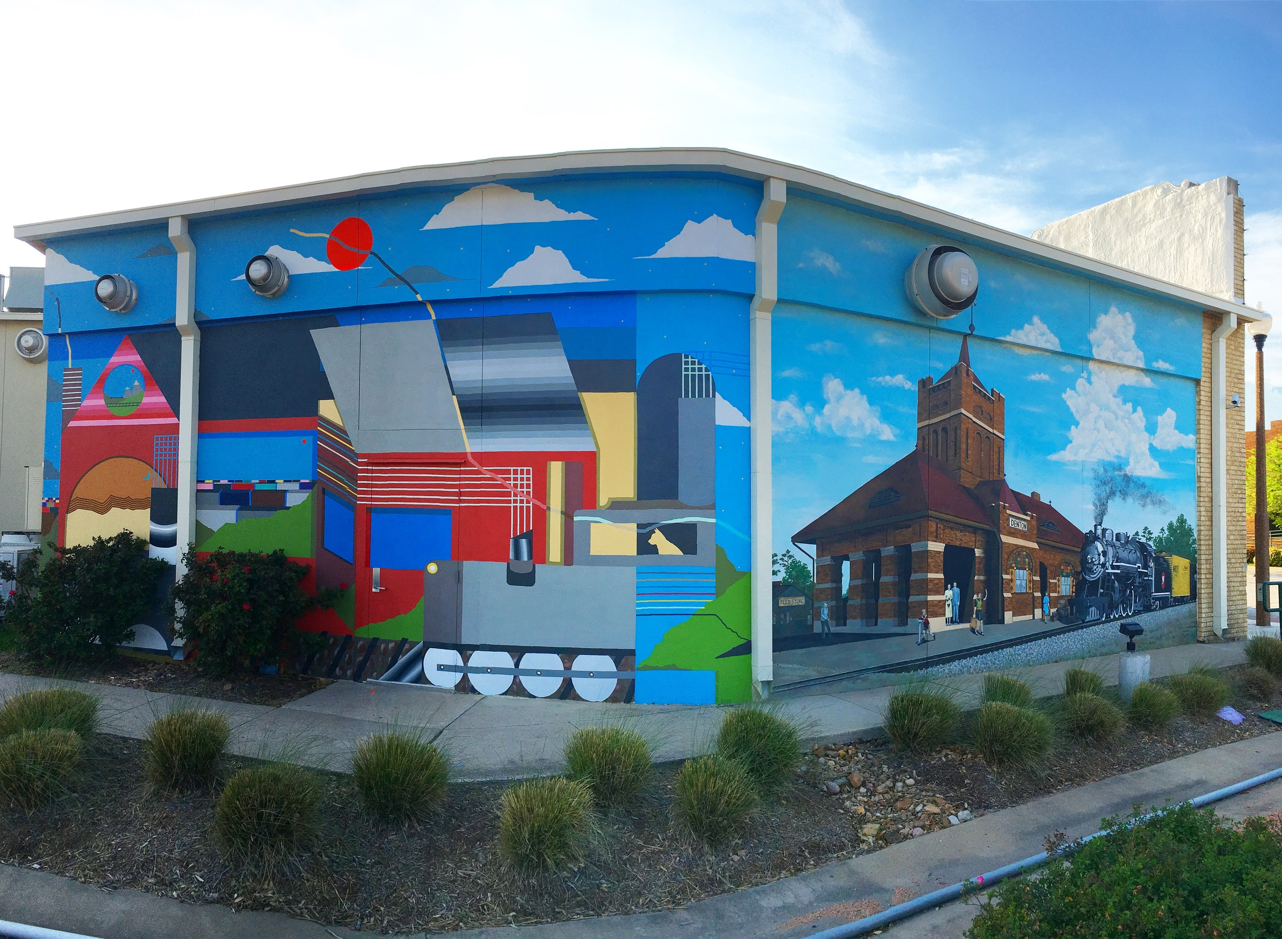 Public Art Murals at the Patterson-Appleton Arts Center