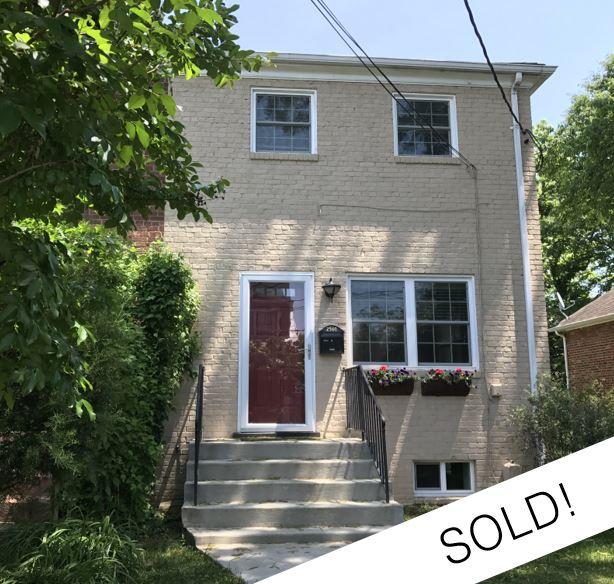 2501 Leslie Avenue, Alexandria Represented Buyer