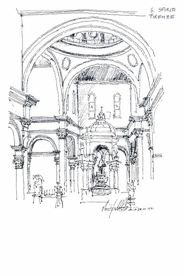 Santo Spirito a Firenze (Nima Yadollahpour)