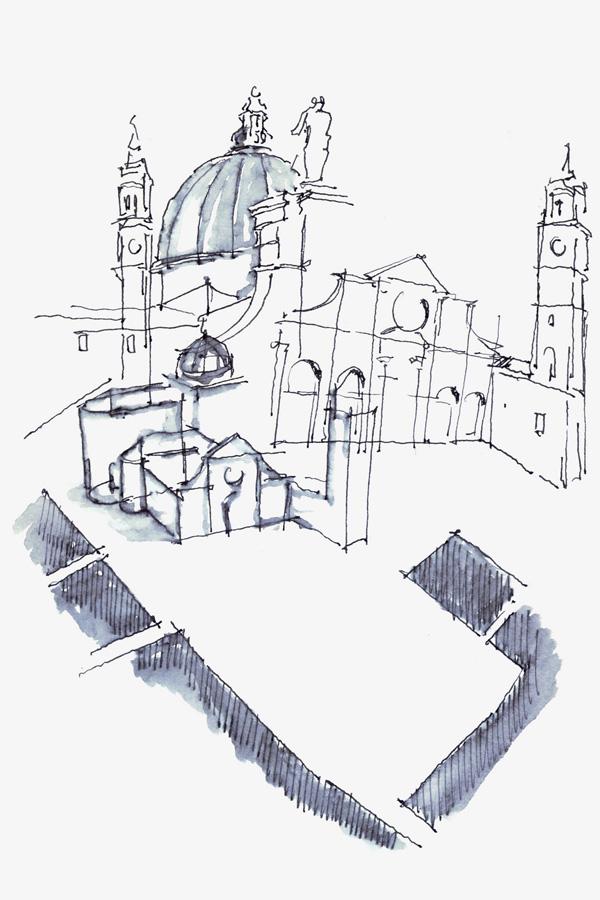 Piazza in Venice (Nima Yadollahpour)