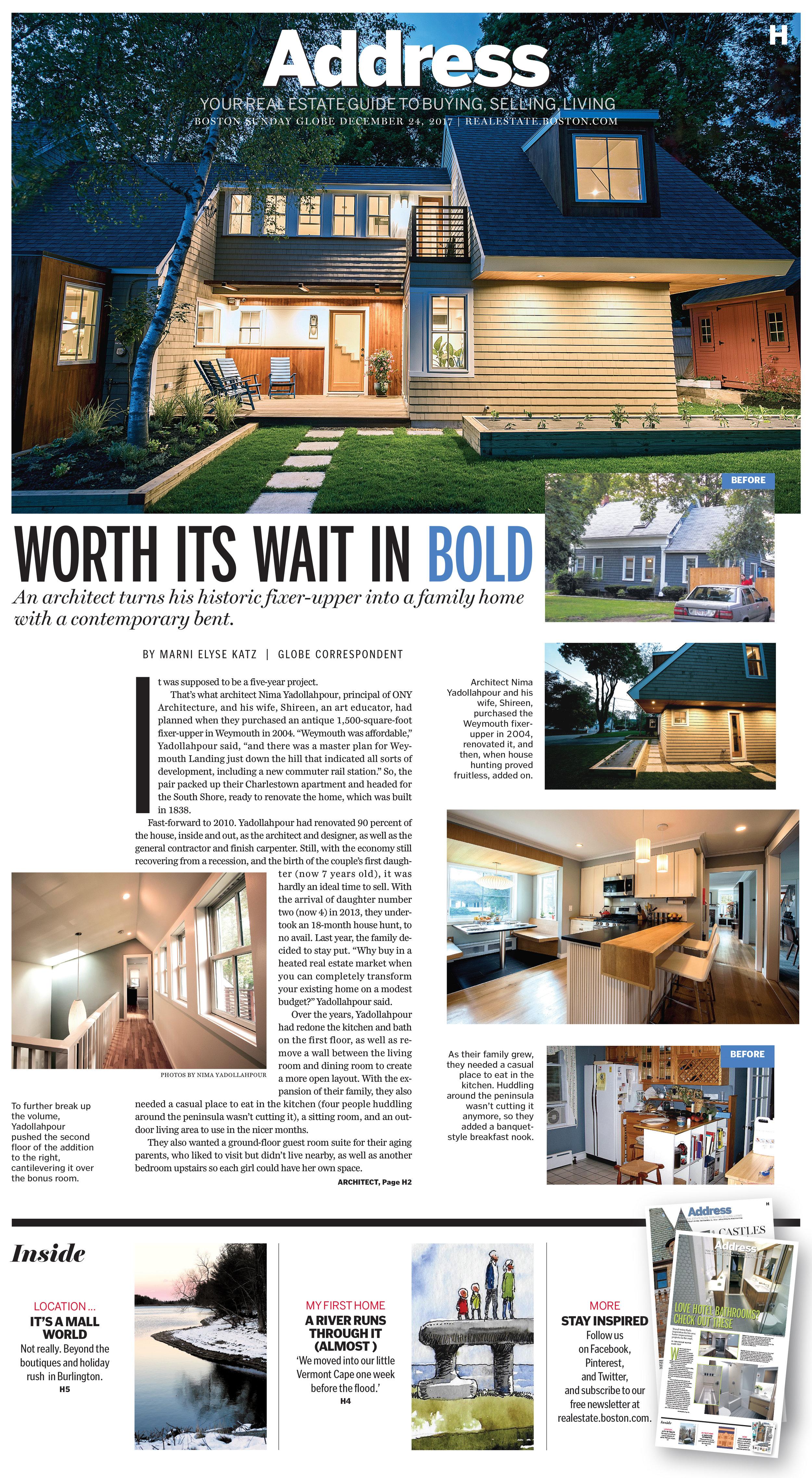 Globe Article (Page 1)
