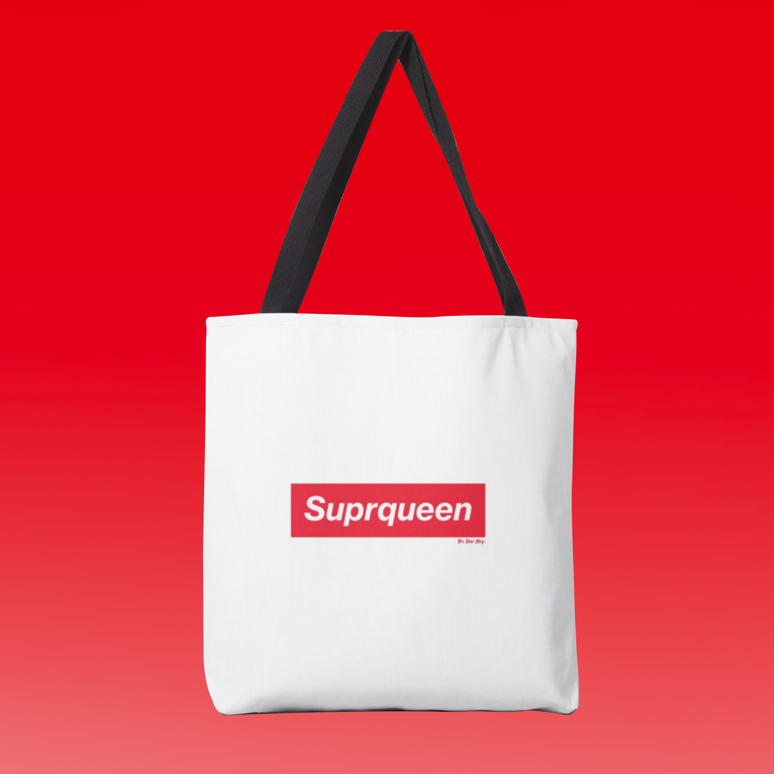 Suprqueen tote - By Bro. Bear Atelier