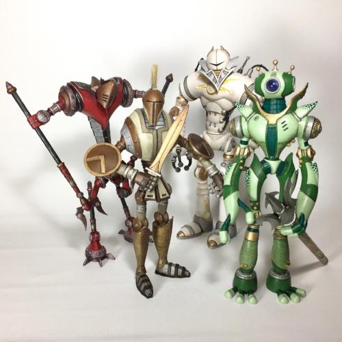 Greek Robots