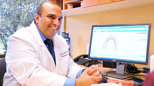 Happy customer of Dr. Walied Touni – Board Certified Orthodontist – Sunnyvale and Silicon Valley