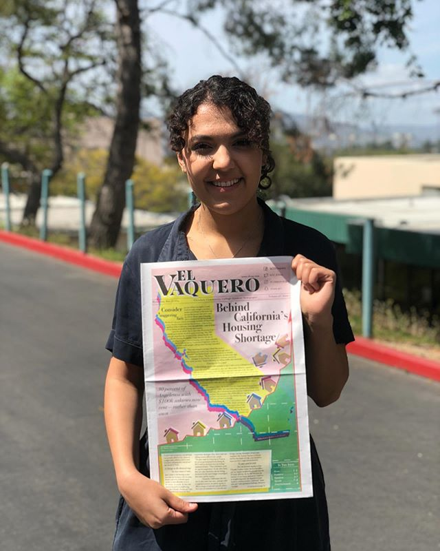 If you haven't already, now is an excellent time to begin familiarizing yourself with the best student newspapers and magazines available. The El Vaquero Newspaper @el.vaquero.gcc , is a newspaper operated by our journalism department. Students develop skills for designing, photography, and writing. The El Vaquero newspaper publishes eight times each semester with a multitalented staff of 15 to 20 students. Visit our amazing journalism department for more information.